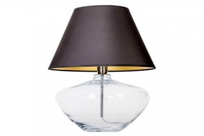 Madrid asztali lámpa - fekete ernyővel