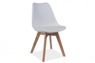 Jensen falábú műanyag szék - tölgy