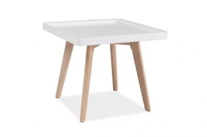 Malin lerakó asztal - négyzetes