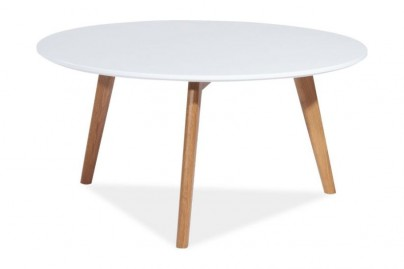 Malin dohányzóasztal - kör alakú