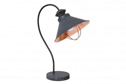 Loft asztali lámpa - szürke