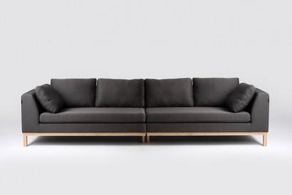 CustomForm Ambient kanapé 4 személyes - fa