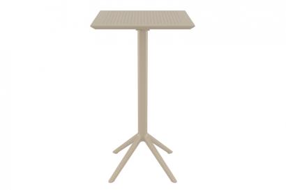 Siesta Sky lehajtható bárasztal 60