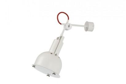 Industrial fali lámpa - fehér