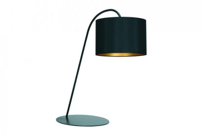 Alice asztali lámpa-black/gold