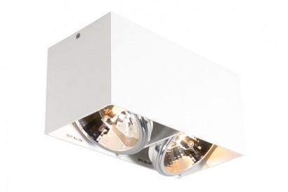 Box Double-Cube mennyezeti lámpa - fehér