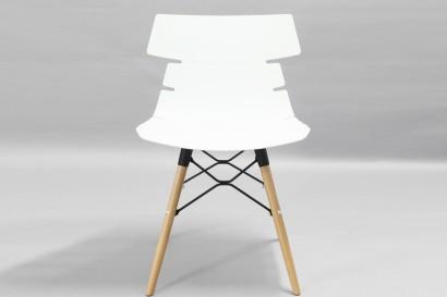 Tikal szék fa lábbal