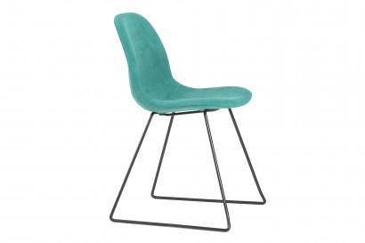 Petal teljesen kárpitozott szék szánkótalppal