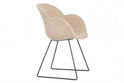 Bloom kárpitozott szék szánkotalppal