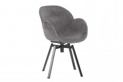 Bloom kárpitozott szék fekete forgós lábbal