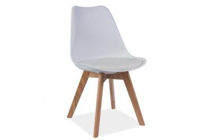 Jensen falábú műanyag szék - bükk