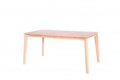 Standart Laine asztal - lakozott fehérített tölgy - 160cm