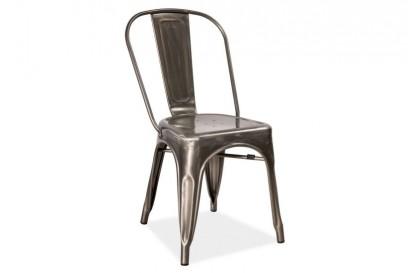 Paris szék galvanizált hatású