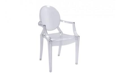 Ludvig karfás szék - átlátszó