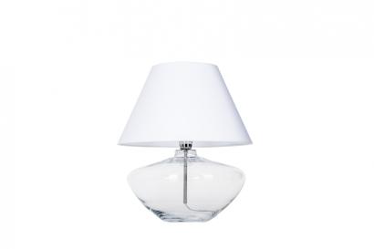 Madrid asztali lámpa - világos ernyővel