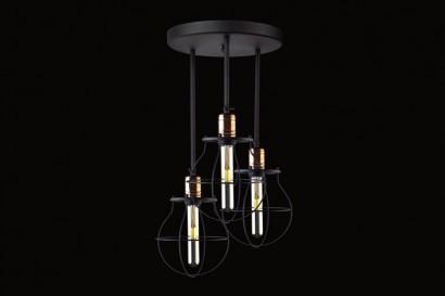 Manufacture 3-as mennyezeti lámpa