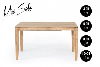 Standart Hannes asztal 160 - bővíthető _ MIX-VÁSÁR