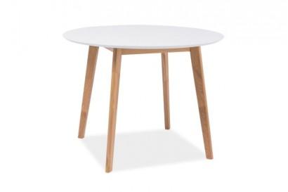 Munin kör alakú étkezőasztal - 2 méretben