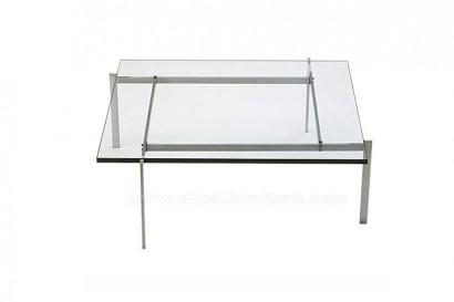 Asszimetrikus üvegasztal
