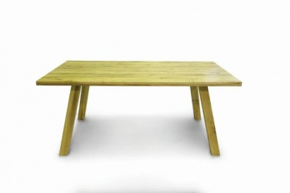 Standart Quentin asztal - 180cm - rusztikus tömör tölgy