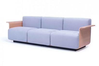 Ply 3 dió vagy tölgy személyes kanapé (2 méretben)