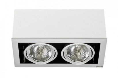 Box mennyezeti lámpa-fehér 2 izzós