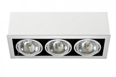 Box mennyezeti lámpa-fehér 3 izzós