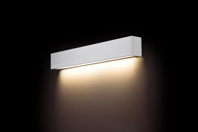 Straight Wall White LED fali lámpa 60-as