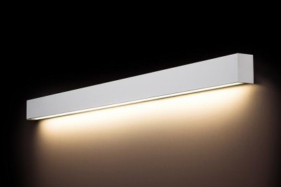 Straight Wall White LED fali lámpa 120-as