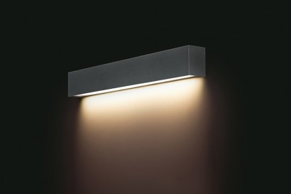 Straight Wall Graphite LED fali lámpa 60-as