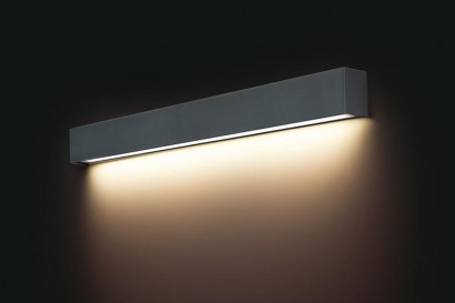 Straight Wall Graphite LED fali lámpa 120-as