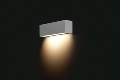 Straight Wall Silver fali lámpa 26-os