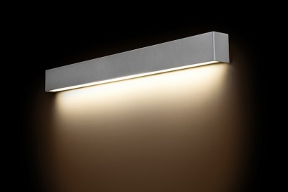 Straight Wall Silver LED fali lámpa 90-es