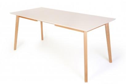 Awinko asztal, több méretben és bővithető változatban is - fehér
