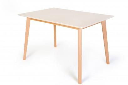 Standart Awinko asztal 120cm bővíthető tölgy asztal fehér tetővel - akciós