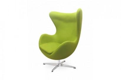 Tojás gyerek fotel - zöld