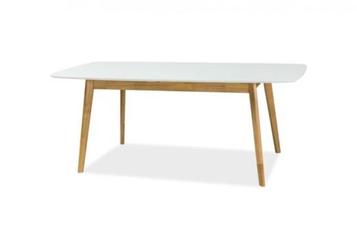 Fellini széthúzható étkezőasztal - fehér